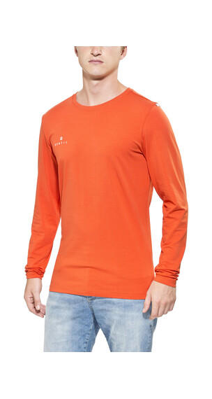 Gentic Lines Game - T-shirt manches longues Homme - orange